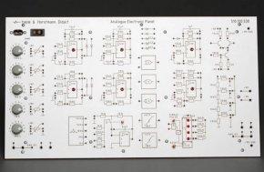 Panel elektroniczny analogowy