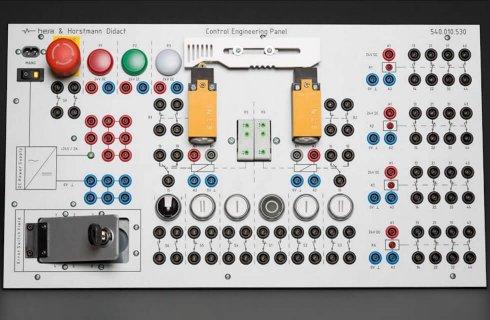 Panel elementów automatyki