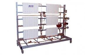 Stanowisko do równoważenia instalacji grzejnikowej przy pomocy osprzętu TA Hydronics (ZSEC-20)